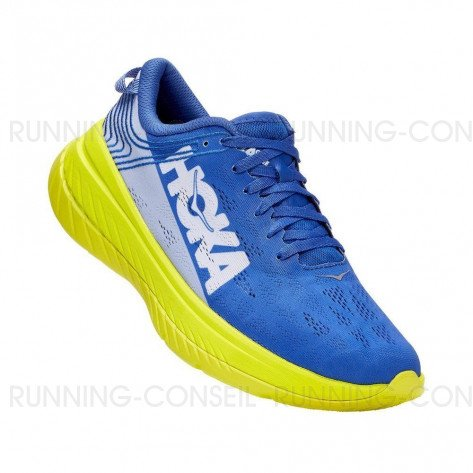 HOKA CARBON X Homme - AMPARO BLUE / EVENING PRIMROSE