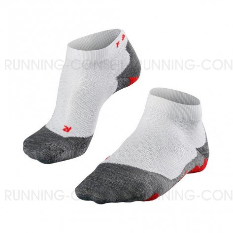 FALKE CHAUSSETTES RUNNING RU5 LIGHTWEIGHT SHORT FEMME | WHITE-MIX | Collection Printemps-Été 2019