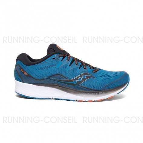 SAUCONY RIDE ISO 2 Homme - Blue | Black