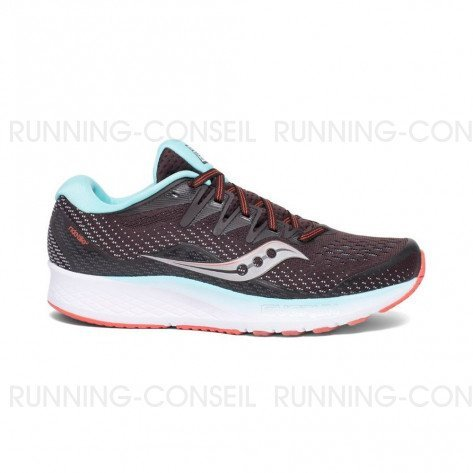 SAUCONY RIDE ISO2 Femme - Brown   Coral