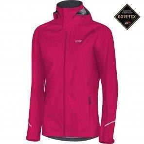 GORE® R3 Veste à Capuche GTX Active Femme Jazzy pink
