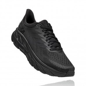 HOKA ONE ONE Clifton 7 BLACK / BLACK Homme