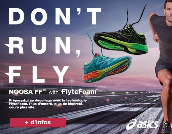 Asics Don't Run Fly - asics noosa ff et ds trainer 22