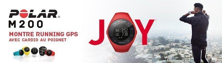 Polar M200 montre running gps avec cardio au pognet