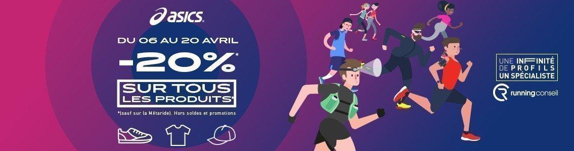 Offre ASICS & Running Conseil Avril 2019