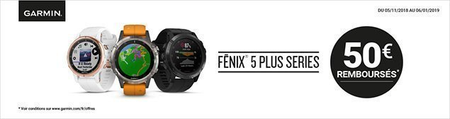 ODR GARMIN FENIX 5 PLUS SERIES