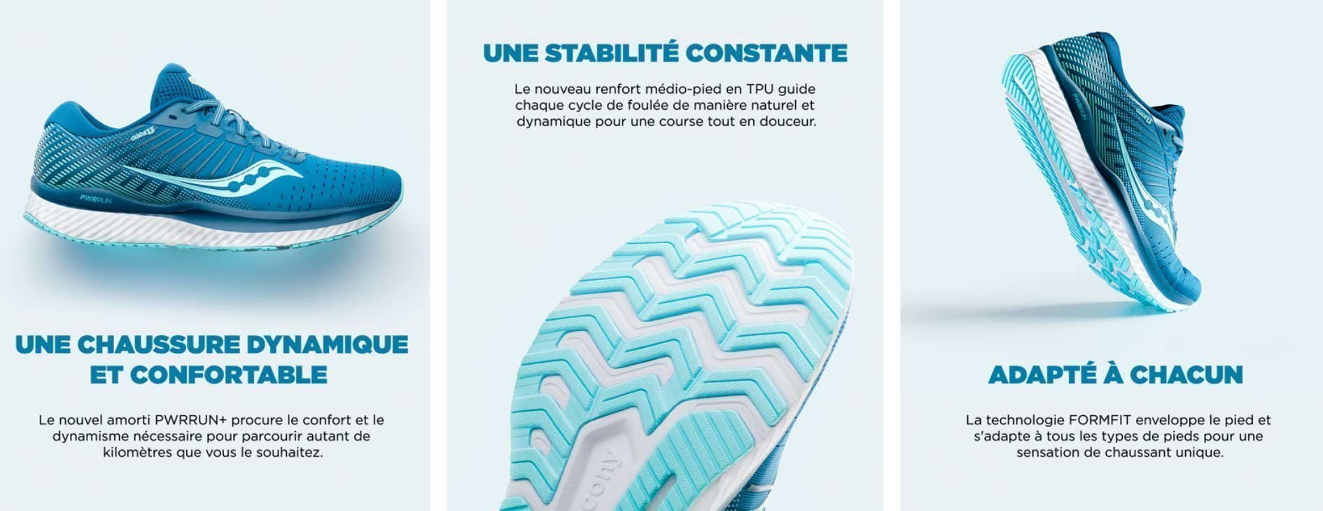 technologie saucony guide 13